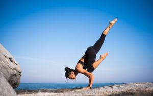 yoga pose handstand